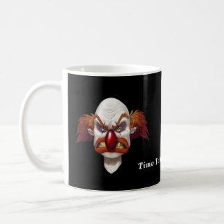 Want To Clown Around? - Designer Cup Classic White Coffee Mug