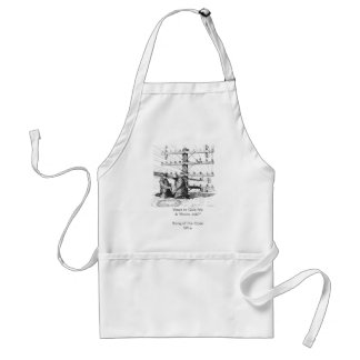 """Want to Give Me A """"Snow Job?"""" Standard Apron"""