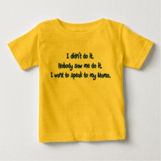 Want to Speak to Mamo Baby T-Shirt