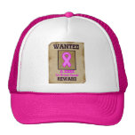 Wanted: A Cure for Breast Cancer Mesh Hats