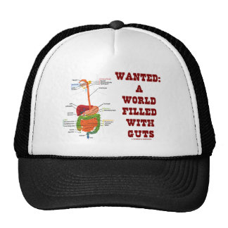 Wanted A World Filled With Guts (Digestive System) Cap