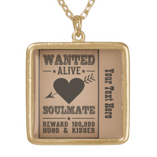 WANTED ALIVE: SOULMATE necklace