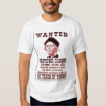 WANTED Christopher Columbus Tee Shirts