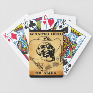 wanted dead or alive 1 deck of cards