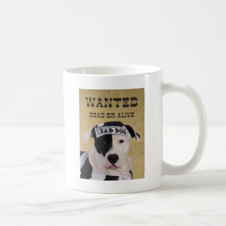 Wanted dead or alive coffee mug