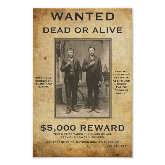 Wanted Dead or Alive U can change PIC