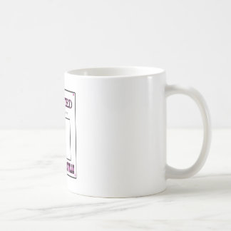 Wanted For Being A Lover Magenta The MUSEUM Zazzle Basic White Mug