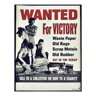 Wanted For Victory 21.5 Cm X 28 Cm Flyer