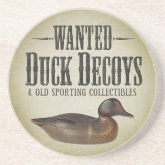 WANTED: Old Duck Decoys Coaster