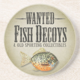 WANTED: Old Fish Decoys Coaster