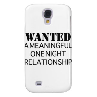 Wanted One Night Relationship Samsung Galaxy S4 Cases