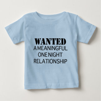 Wanted One Night Relationship Shirt