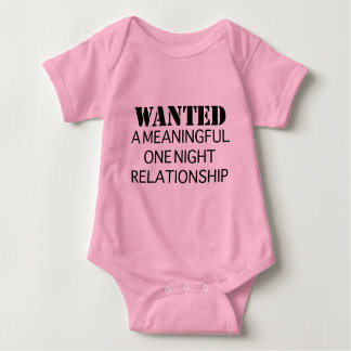 Wanted One Night Relationship Tees