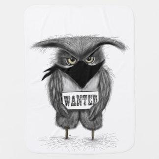 wanted owl baby blanket