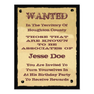 western party invitations announcements zazzle uk