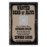WANTED POSTER - Make Your Own Customised