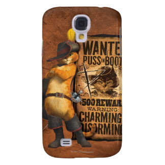 Wanted Puss in Boots (char) Galaxy S4 Case