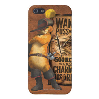 Wanted Puss in Boots (char) iPhone 5 Cover
