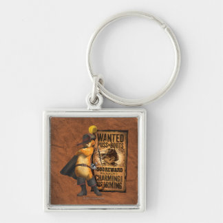 Wanted Puss in Boots (char) Key Ring
