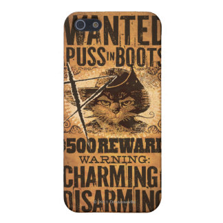 Wanted Puss in Boots iPhone 5 Cover