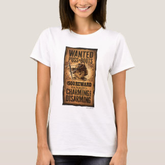 Wanted Puss in Boots T-Shirt