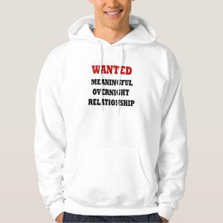 Wanted Relationship Sweatshirts