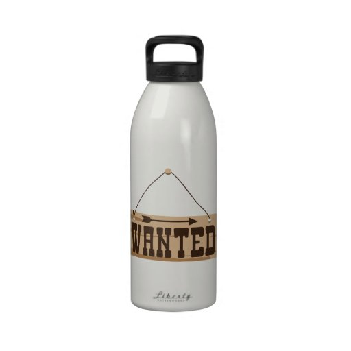 Wanted Water Bottles