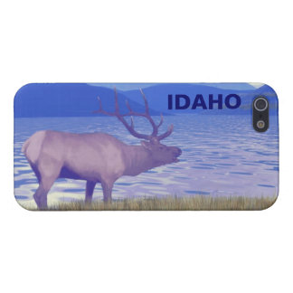 Wapiti (Elk) By The Lake iPhone 5 Cases