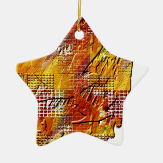 War and peace christmas tree ornament