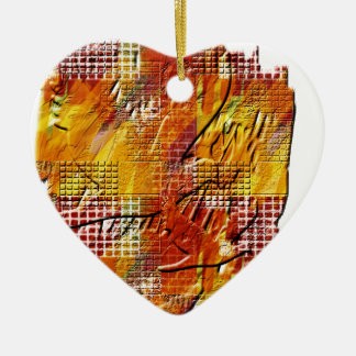 War and peace ornament