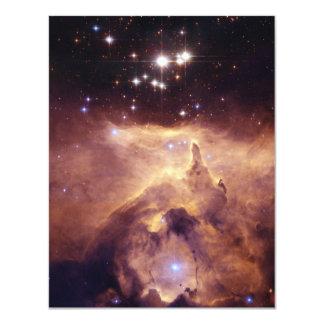 War and Peace Nebula 11 Cm X 14 Cm Invitation Card