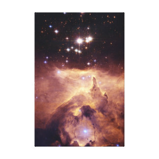 War and Peace Nebula Gallery Wrap Canvas