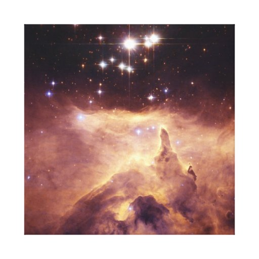 War and Peace Nebula Canvas Prints