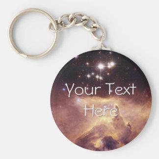 War and Peace Nebula Key Chain