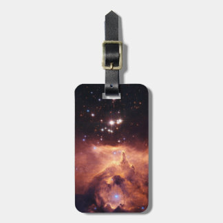 War and Peace Nebula Luggage Tag