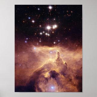 War and Peace Nebula Poster