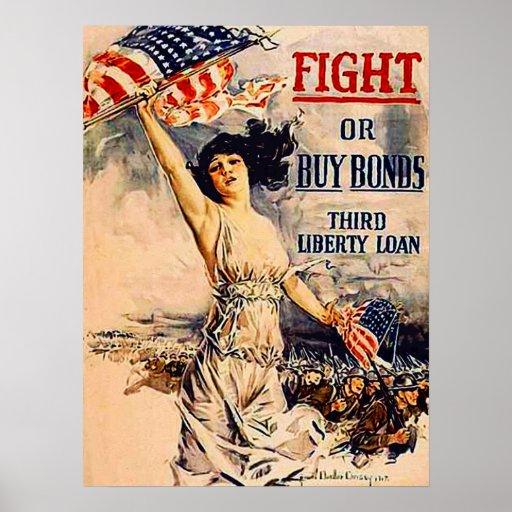 War Bonds Print