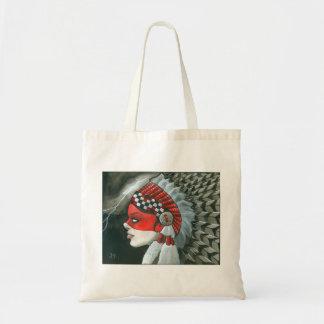 """War Bonnet"" Budget Tote Bag"
