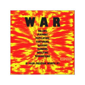 WAR: Canvas Print, Concept Art by Gary Revel