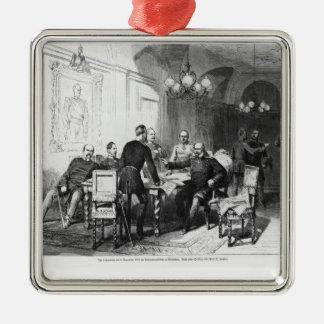 War council at Versailles Prefecture Ornaments