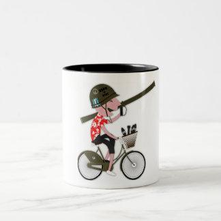 War Cyclist Mug