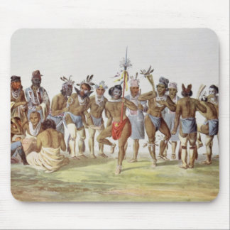 War Dance of the Sauks and Foxes Mouse Mat