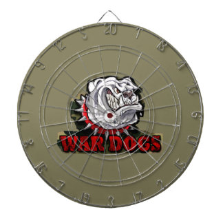 war dogs dartboard