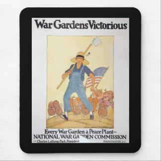 War Garden World War II Mousepad
