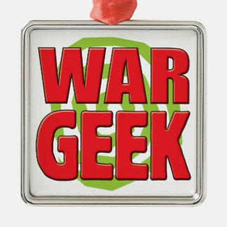 War Geek Christmas Tree Ornaments