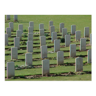 War graves in the Somme Postcards