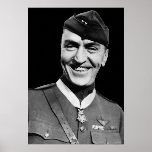 War Hero -- Eddie Rickenbacker Poster
