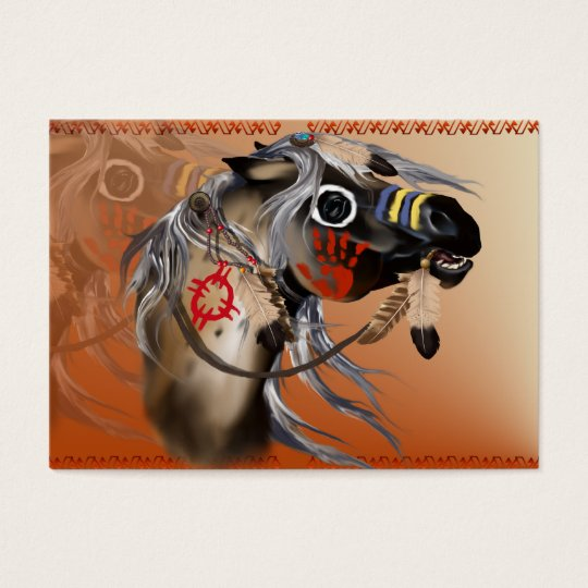 War Horse Business Card