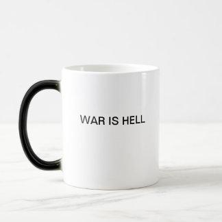 WAR IS HELL MAGIC MUG