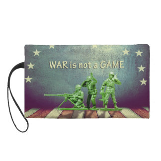 War is not a Game Wristlet